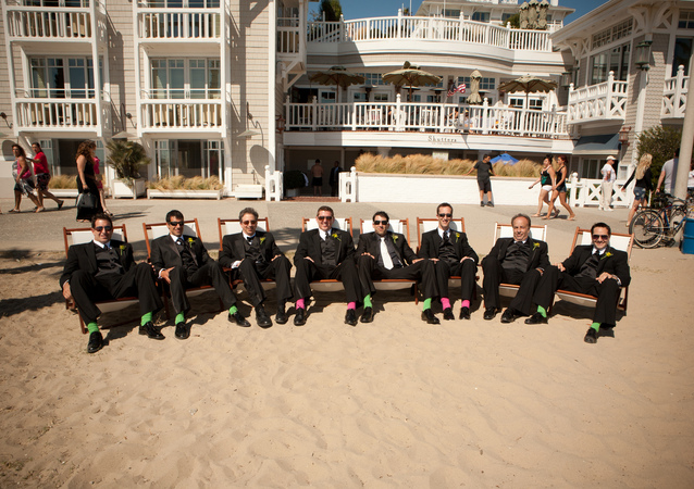 LA Wedding Planner Wayne Gurnick: wedding coordination for April Rawlings and Joshua Love at Shutters on the Beach