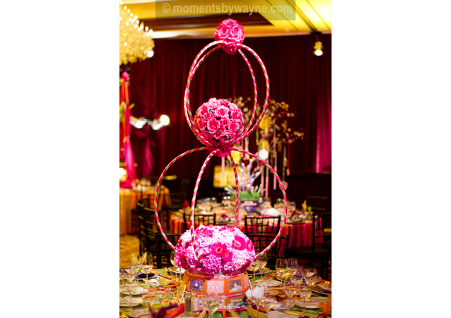 LA Wedding Planner Wayne Gurnick: full service Bat Mitzvah reception design, planning and coordination at Four Seasons Hotel, Westlake Village, A Carnival in Candyland theme